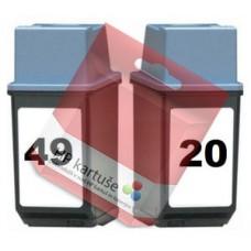 KOMPLET KARTUŠ HP 20 IN HP 49